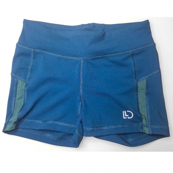 Aeropostale Pants - Blue Aeropostale Compression Mesh Running Shorts